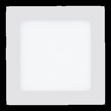 Встраиваемая светодиодная панель Eglo Fueva 1 94061, LED 10,9W, белый, металл, пластик