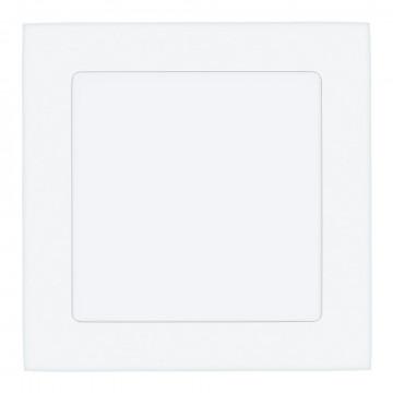 Светодиодная панель Eglo Fueva 1 94062, LED 10,9W 4000K 1350lm CRI>80, белый, металл с пластиком, пластик