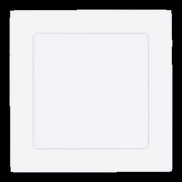 Встраиваемая светодиодная панель Eglo Fueva 1 94062, LED 10,9W 4000K 1350lm CRI>80, белый, металл с пластиком, пластик
