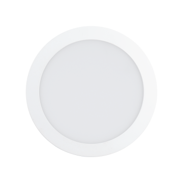 Встраиваемая светодиодная панель Eglo Fueva 1 94063, LED 16,5W, 3000K (теплый), белый, металл, пластик