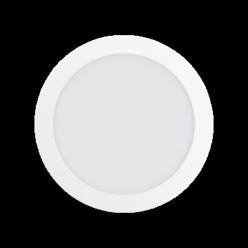 Встраиваемая светодиодная панель Eglo Fueva 1 94064, LED 16,5W 3000K 1600lm CRI>80, белый, металл с пластиком, пластик