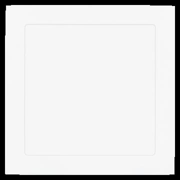 Встраиваемая светодиодная панель Eglo Fueva 1 94068, LED 16,5W, 3000K (теплый), белый, металл, пластик