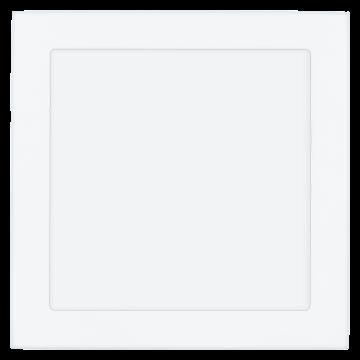 Встраиваемая светодиодная панель Eglo Fueva 1 94069, LED 18W, 4000K (дневной), белый, металл, пластик