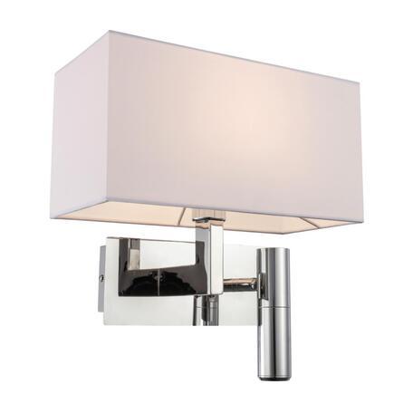 Бра с дополнительной подсветкой Omnilux Citulo OML-62201-02, 1xE14x40W + LED 3W в зависимости от используемых лампочекlm