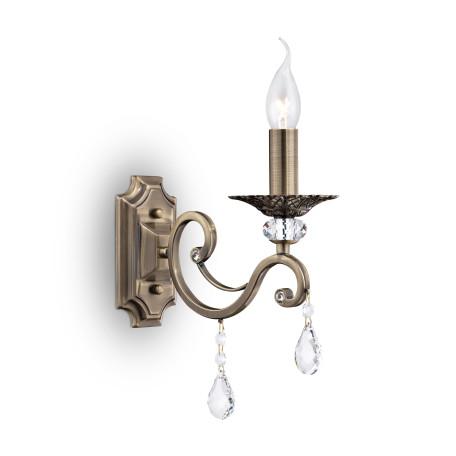 Бра Maytoni Grace RC247-WL-01-R (ARM247-01-R), 1xE14x60W, бронза, прозрачный, металл, хрусталь