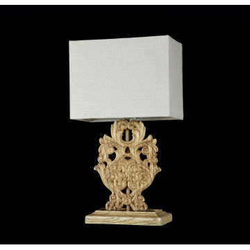 Настольная лампа Maytoni Cipresso H034-TL-01-R (ARM034-11-R), 1xE14x40W, бежевый, пластик, текстиль - миниатюра 4