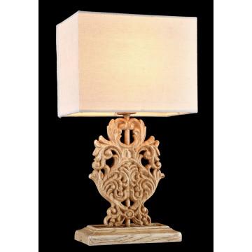 Настольная лампа Maytoni Cipresso H034-TL-01-R (arm034-11-r), 1xE14x40W, бежевый, пластик, текстиль - миниатюра 5