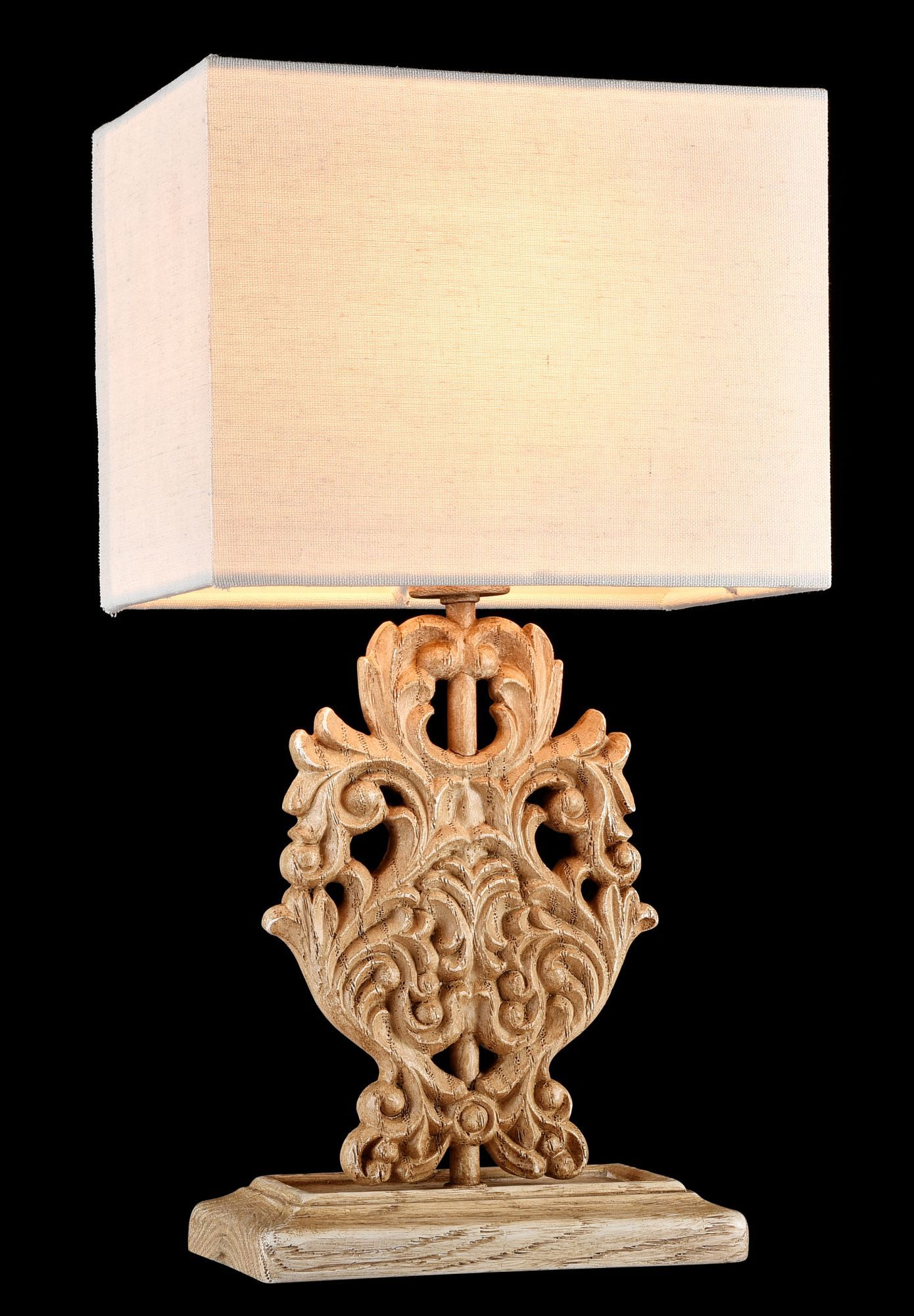Настольная лампа Maytoni Cipresso H034-TL-01-R (ARM034-11-R), 1xE14x40W, бежевый, пластик, текстиль - фото 5