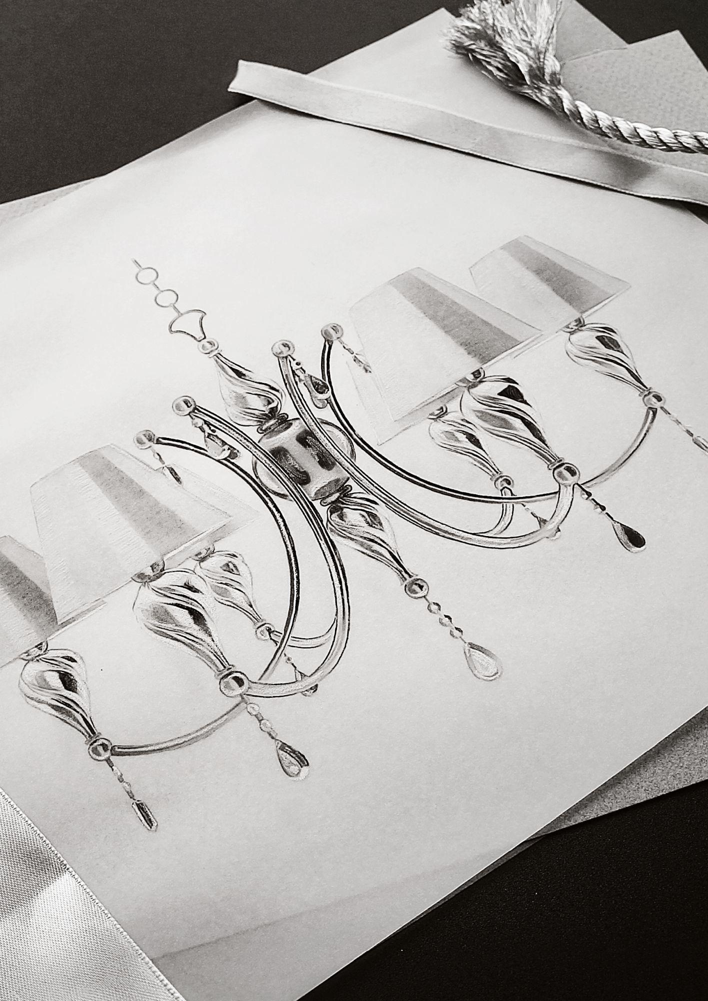 Подвесная люстра Maytoni Murano RC855-PL-08-R (arm855-08-r), 8xE14x40W, бронза, коньячный, бежевый, металл со стеклом, текстиль, хрусталь - фото 4