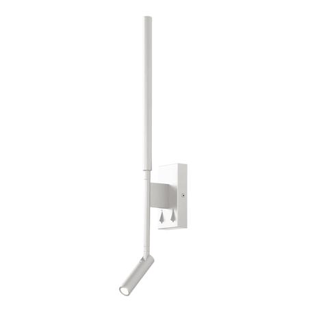 Светодиодное бра Mantra Torch 6702, LED 9W 3000K 210lm, белый, металл