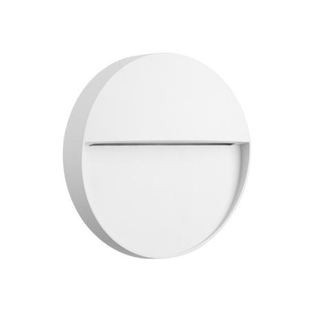 Настенный светодиодный светильник Mantra Baker 7014, IP54, LED 3W 3000K 210lm, белый, металл