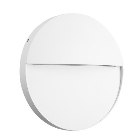 Настенный светодиодный светильник Mantra Baker 7018, IP54, LED 6W 3000K 420lm, белый, металл