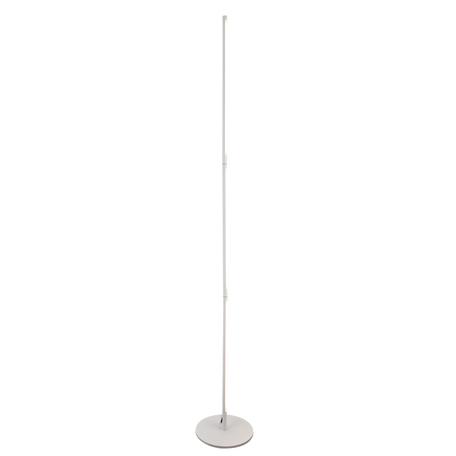 Светодиодный торшер Mantra Torch 6735, LED 25W 3000K 1950lm, белый, металл