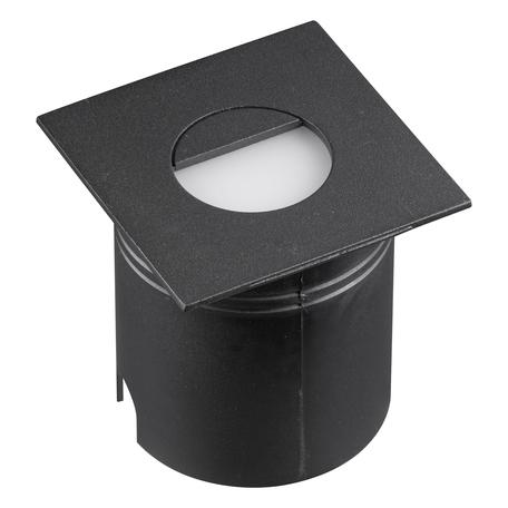 Встраиваемый настенный светодиодный светильник Mantra Aspen 7031, IP65, LED 3W 3000K 210lm, черный, металл