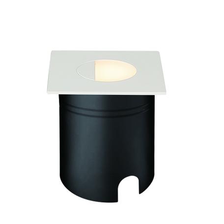Встраиваемый настенный светодиодный светильник Mantra Aspen 7032, IP65, LED 3W 3000K 210lm, белый, металл