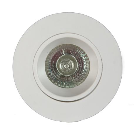 Встраиваемый светильник Mantra Lamborjini 6835, 1xGU10x12W, белый, пластик