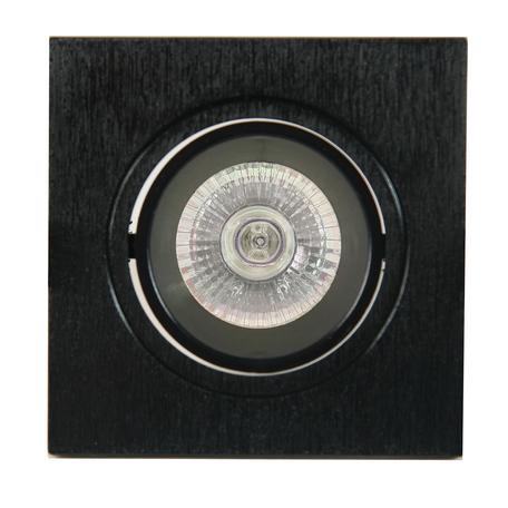 Встраиваемый светильник Mantra Lamborjini 6838, 1xGU10x12W, черный, пластик