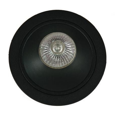 Встраиваемый светильник Mantra Brandon 6901, 1xGU10x12W, черный, металл