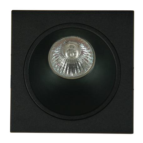 Встраиваемый светильник Mantra Brandon 6903, 1xGU10x12W, черный, металл