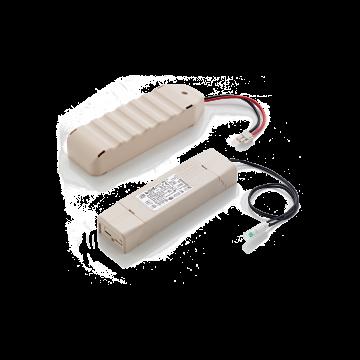 Источник бесперебойного питания Ideal Lux KIT EMERGENCY 3h 221595, белый, пластик