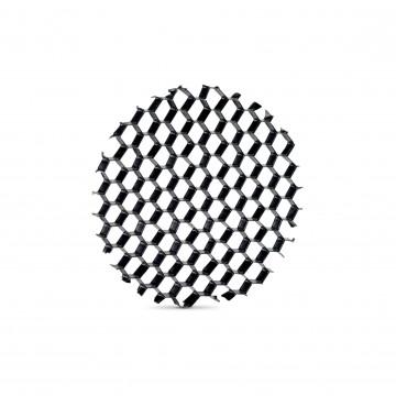 Рассеиватель Ideal Lux QUICK 15W / 21W HONEYCOMB 222608 (QUICK 15W HONEYCOMB), черный, пластик