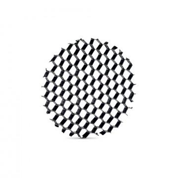 Рассеиватель Ideal Lux QUICK 28W HONEYCOMB 222714, черный, пластик