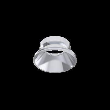 Рефлектор Ideal Lux DYNAMIC REFLECTOR ROUND FIXED CH 221649 (DYNAMIC REFLECTOR ROUND FIXED CHROME), хром, металл - миниатюра 1