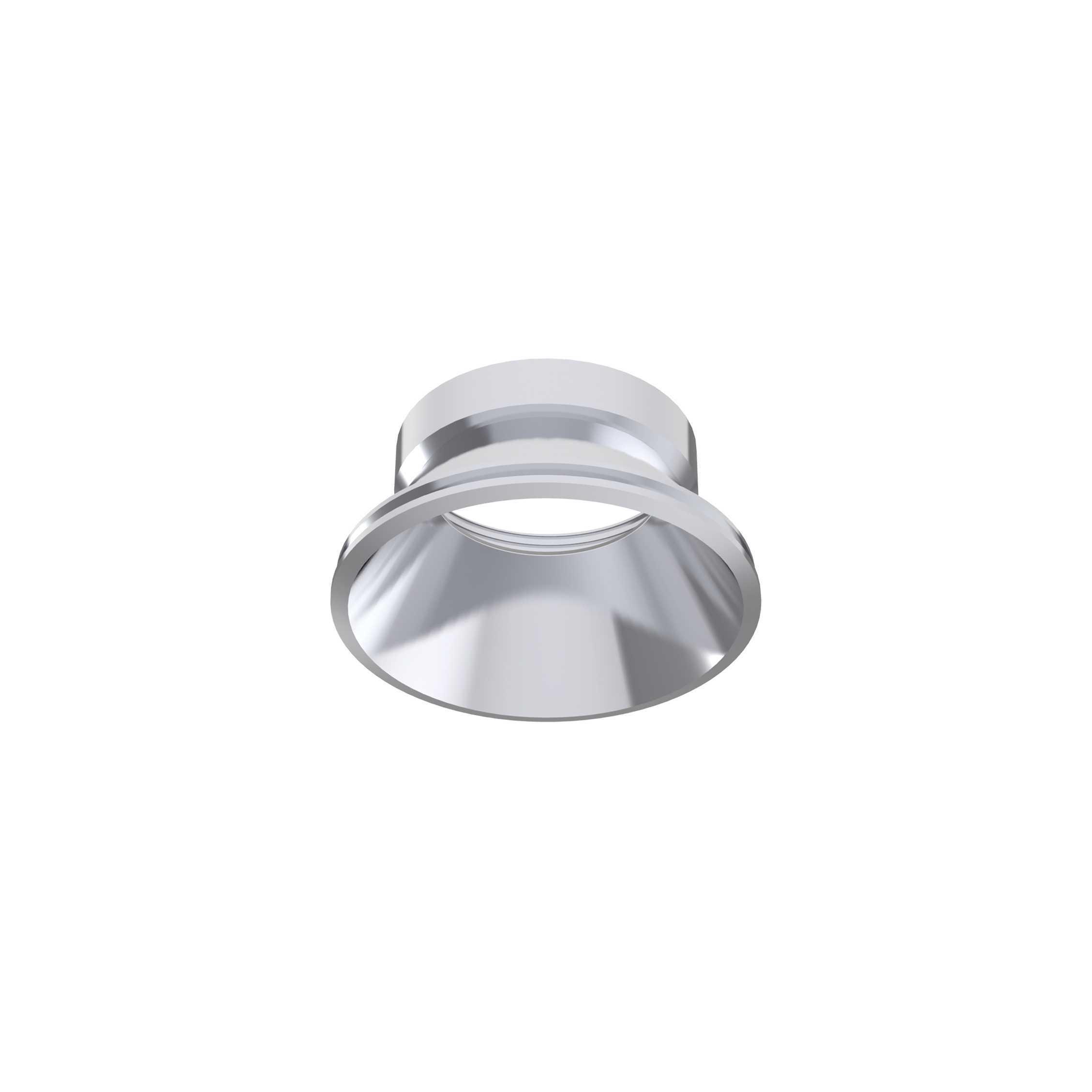 Рефлектор Ideal Lux DYNAMIC REFLECTOR ROUND FIXED CHROME 221649, хром, металл - фото 1