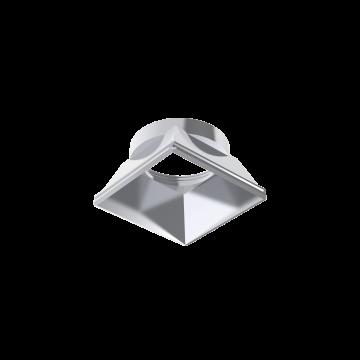 Рефлектор Ideal Lux DYNAMIC REFLECTOR SQUARE FIXED CH 221656 (DYNAMIC REFLECTOR SQUARE FIXED CHROME), хром, металл