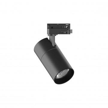 Светодиодный светильник Ideal Lux QUICK 15W CRI80 30° 3000K BK ON-OFF 222523 (QUICK 15W CRI80 30° 3000K BLACK), LED 15W 3000K 1700lm, черный, металл