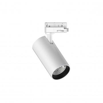 Светодиодный светильник Ideal Lux QUICK 15W CRI80 30° 4000K WH ON-OFF 222530 (QUICK 15W CRI80 30° 4000K WHITE), LED 15W 4000K 1800lm, белый, металл