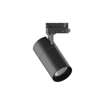 Светодиодный светильник Ideal Lux QUICK 15W CRI90 30° 4000K BK ON-OFF 222585 (QUICK 15W CRI90 30° 4000K BLACK), LED 15W 4000K 1600lm, черный, металл