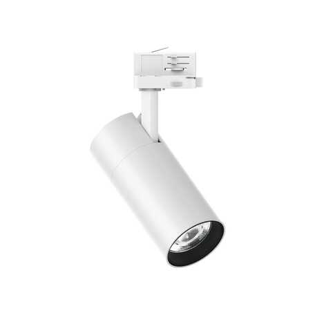 Светодиодный светильник Ideal Lux QUICK 28W CRI80 30° 4000K WH ON-OFF 222639 (QUICK 28W CRI80 30° 4000K WHITE), LED 28W 4000K 4000lm, белый, металл