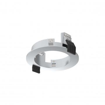 Встраиваемый светильник Ideal Lux DYNAMIC FRAME ROUND CH 221687 (DYNAMIC FRAME ROUND CHROME), хром