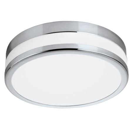 Потолочный светодиодный светильник Eglo LED Palermo 94999, IP44, LED 24W 3000K 2100lm, хром, металл со стеклом
