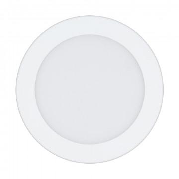 Светодиодная панель Eglo Fueva 1 96165, IP44, LED 10,9W 3000K 1200lm CRI>80, белый, металл с пластиком, пластик