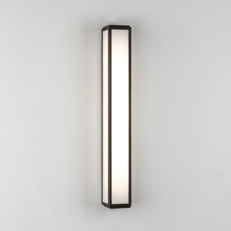 Настенный светодиодный светильник Astro Mashiko 1121058 (8291), IP44, LED 9,6W 3000K 657lm CRI80, бронза, стекло