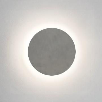 Настенный светодиодный светильник Astro Eclipse 1333011 (8332), IP44, LED 12,6W 3000K 597lm CRI80, белый, под покраску, гипс