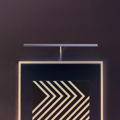 Настенный светодиодный светильник для подсветки картин Astro Mondrian 1374015 (8286), LED 8,1W 2700K 219lm CRI80, бронза, металл