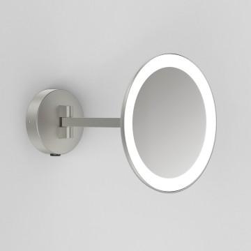 Косметическое зеркало со светодиодной подсветкой и увеличением Astro Mascali 1373006 (8324), IP44, LED 5,3W 2700K (теплый) 76,16lm
