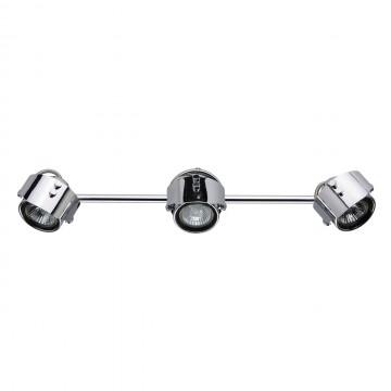 Потолочный светильник De Markt Алгол 506021703, 3xGU10x50W, хром, металл