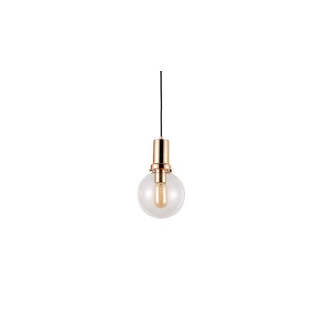 Подвесной светильник Lumina Deco Dorito LDP 1212-150 TR+GD, 1xE27x40W, золото, прозрачный, металл, стекло