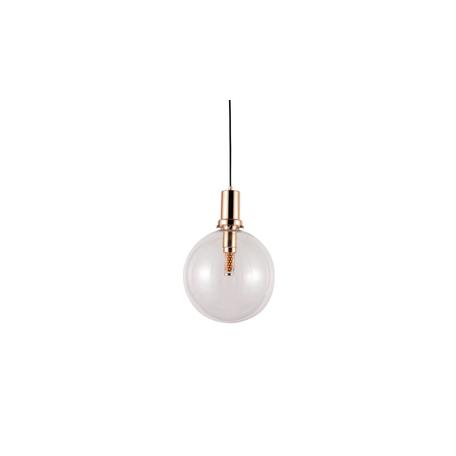 Подвесной светильник Lumina Deco Dorito LDP 1212-250 TR+GD, 1xE27x40W, золото, прозрачный, металл, стекло