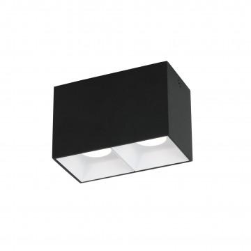 Потолочный светодиодный светильник Favourite Oppositum 2404-2U, 4000K (дневной), металл, пластик