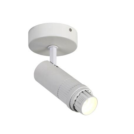 Потолочный светодиодный светильник с регулировкой направления света Favourite Optica 2415-1W, LED 12W 4000K 960lm, белый, металл