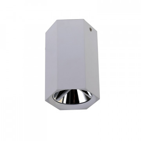 Потолочный светодиодный светильник Favourite Hexahedron 2397-1U, LED 12W 4000K 960lm, белый, металл