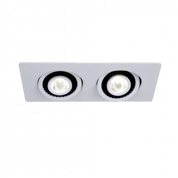 Встраиваемый светодиодный светильник Favourite Cardine 2417-2U, LED 10W 4000K (дневной)