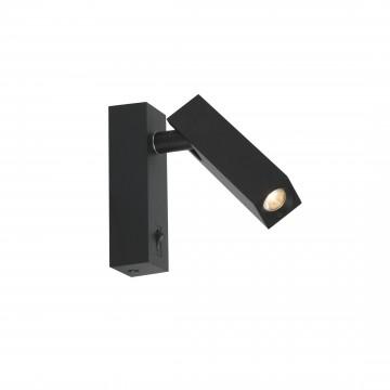 Настенный светодиодный светильник с регулировкой направления света Favourite Eckig 2403-1W, LED 2W 4000K (дневной)