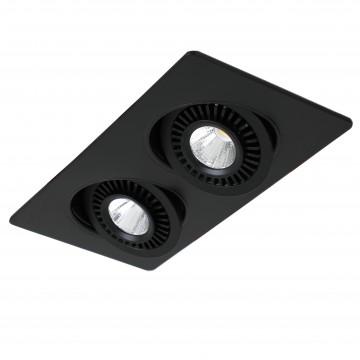 Встраиваемый светодиодный светильник Favourite Cardine 2416-2U, LED 10W 4000K (дневной)