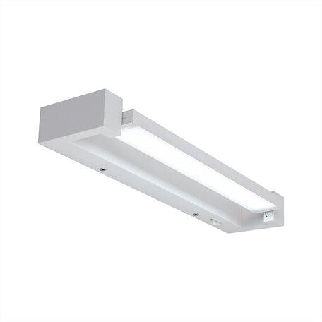 Светодиодный светильник Citilux Визор CL708240N, LED 12W, белый, металл, пластик с металлом, металл с пластиком